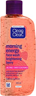 Clean & Clear Morning Energy Face Wash Brightening Berry Ext Brighten Skin100ml