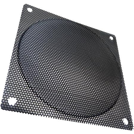 Aerzetix Griglia di protezione 92x92 mm ventilazione con schermo EMI elettromagnetica schermatura per ventilatore della computer PC C15142