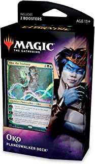 Magic The Gathering Throne of Eldraine Oko, The Trickster Planeswalker Deck   Ready-to-Play   60-Card Starter Deck
