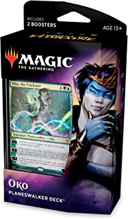 Magic: The Gathering Throne of Eldraine Oko, The Trickster Planeswalker Deck   Ready-to-Play   60-Card Starter Deck