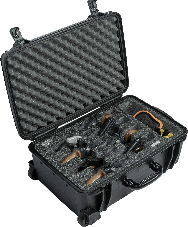 100%品質保証 Case 実物 Club 8 Revolver Semi-Auto with Waterproof Pre-Cut Acce
