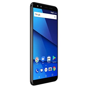 """BLU VIVO X – 6.0"""" HD+18:9 Display Smartphone with Dual Front and Rear Cameras –Black"""