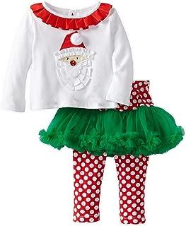 Baby Girls' Santa Pettiskirt Set