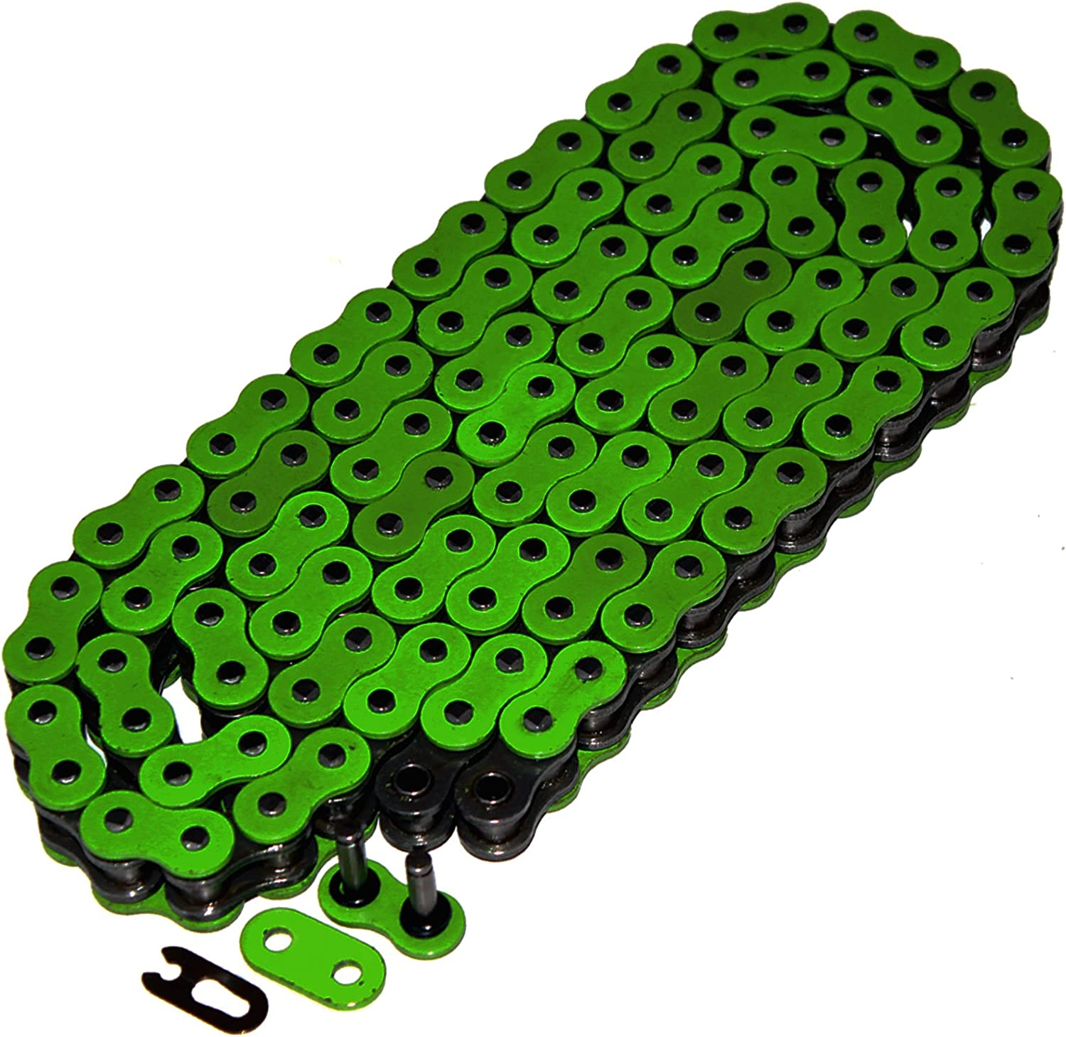 Caltric Free shipping / New O-Ring Drive Chain 5 ☆ very popular Compatible 650 Kl Kawasaki Kl650 With