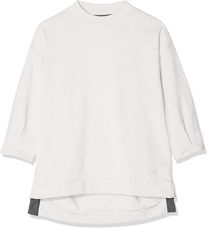 Adidas Damen Big Logo 7 Langarm Sweatshirt B07FTP9BQK    Sehr gute Farbe f12399