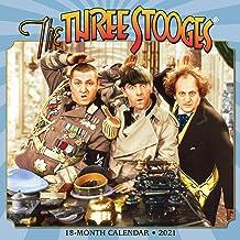 Three Stooges 2021 Wall Calendar