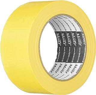 古藤工業 Monf No.8015 カラー布粘着テープ 黄 厚0.2mm×幅50mm×長さ25m