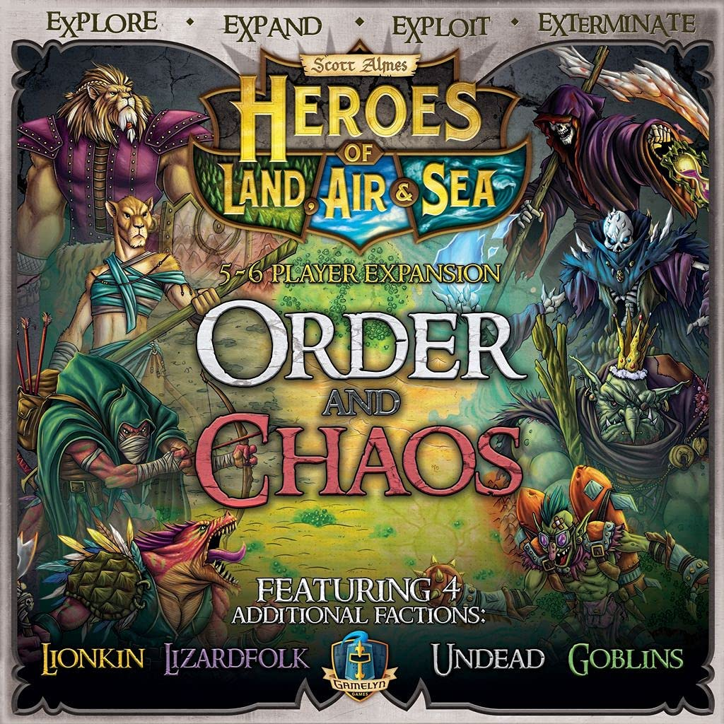 Heroes At the price of surprise of Land Air Lowest price challenge Sea and Chaos Order Expansion