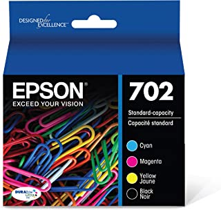 Epson T702120-BCS DURABrite Ultra Black and Color Combo Pack Standard Capacity Cartridge Ink