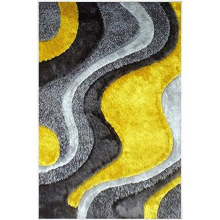 Homemania Tapis Imprimé Flow 2 Impression Multicolore Polyamide 80 x 200 cm