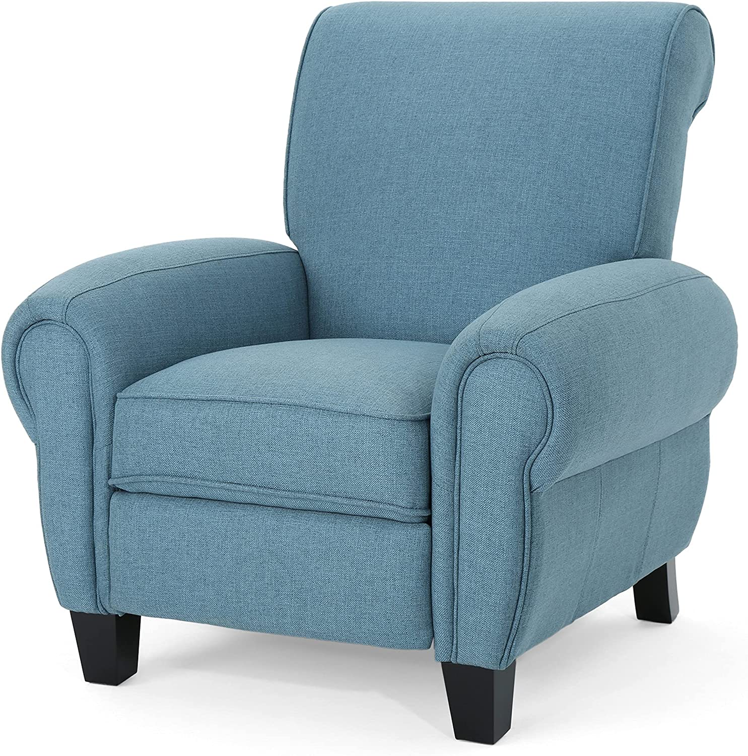 Christopher Knight Home Tripp Monte Recliner Mail order cheap Pushback Dark Ranking TOP16 Blue