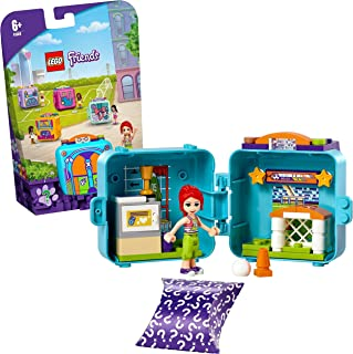 LEGO 41669 Friends Mia's Soccer Cube Play Set, Collectible Portable Summer Travel Toy with Mini Doll and Dog Figure