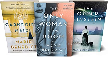 Marie Benedict Historical Fiction Book Set: The Other Einstein, Carnegie's Maid, and The Only Woman in the Room