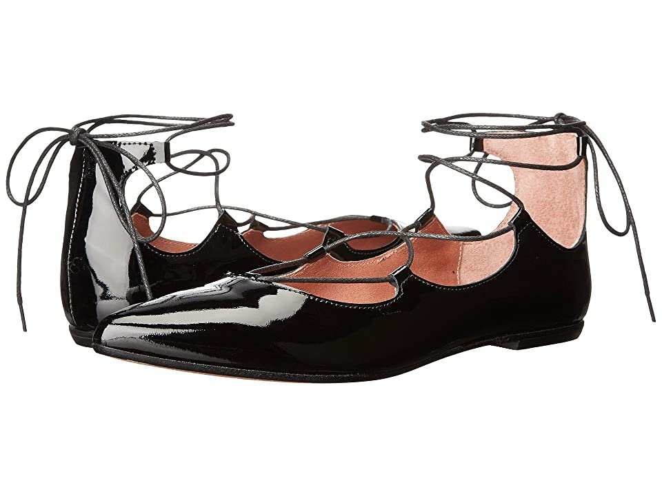 Summit by White Mountain Karena (Black Patent Leather) Women