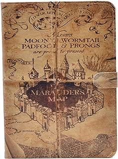 ipad mini 4 CASE Hogwarts Marauder's Map Vintage Retro Pattern Leather Flip Stand Case Cover For ipad mini 4 4th New