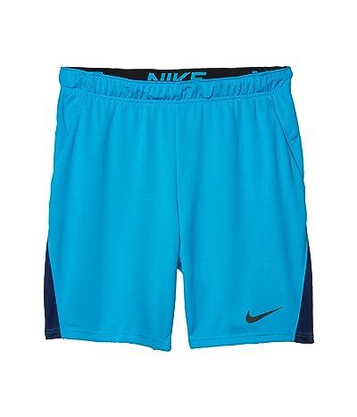 Nike Dry-FIT Knit Short 5.0 (Laser Blue/Blue Void/Black) Men