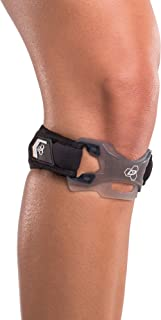 DonJoy Performance Webtech Patella Knee Strap – Patellar Tendonitis Band, Jumper's Knee Strap, Adjustable Support for Running, Basketball, Volleyball, Squats, Weightlifting