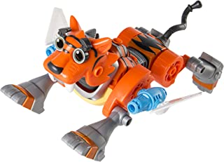 Rusty Rivets Tigerbot Building Set with Lights and Sounds, for Ages 3 and Up