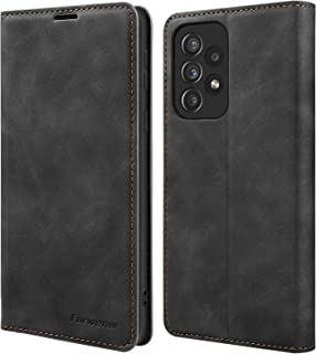 Samsung A52 Case, Samsung Galaxy A52 Flip Wallet Case PU Leather with Card Holder, Magnetic Buckle, TPU Inner Shell, Samsu...