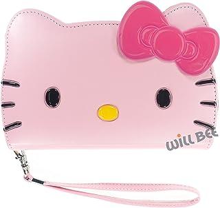Samsung Galaxy S7Edge (14cm), diseño de Hello Kitty cute Diary Wallet Funda Flip Cover piel Sintético Antigolpes, rosa, ...