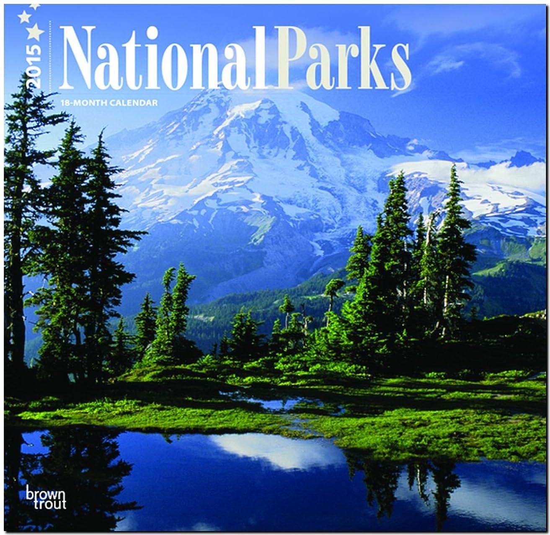 アーティファクト怒り不公平National Parks 2015 18-Month Calendar