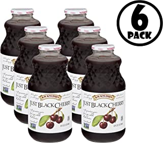 (6 Pack) R.W. Knudsen Family Just Black Cherry Juice, 32 Fl. Oz.