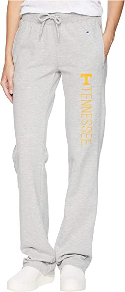 Tennessee Volunteers University Fleece Open Bottom Pants