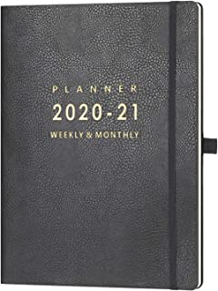 "2020-2021 Planner – 8.5"" x 11"" Weekly & Monthly Planner with Calendar.."