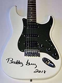 buddy guy autographed guitar