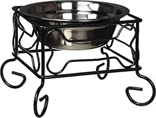 dog food bowl with stand