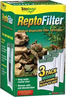 Tetra ReptoFilter Filter Cartridges, Medium, 3-Pack, fit the ReptoFilter 90GPH