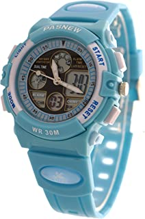 Kid Watch 30 M Waterproof Sport Dual Time Display LED...