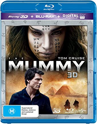 The Mummy (Blu-ray 3D + Blu-ray + Digital)