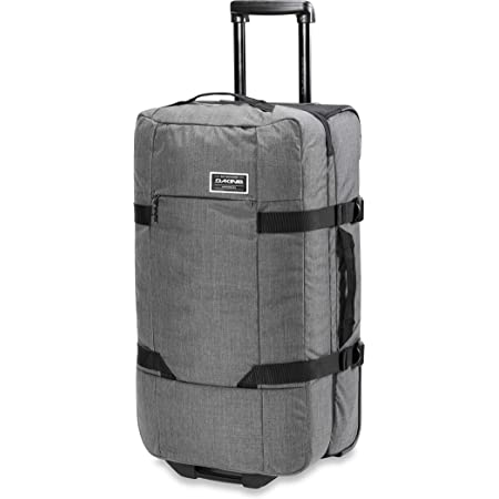 Dakine Sac de voyage à roulettes Split Roller, 75 litres, poches spacieuses avec rangements - Bagage robuste, sac à roulettes et sac de sport