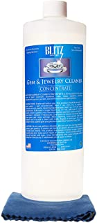 Blitz 32 Ounce Concentrated Jewelry Cleaning Solution + Free Cleaning Cloth