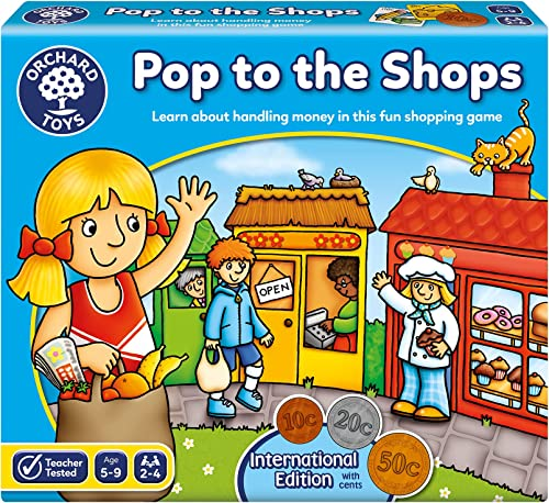 Orchard Toys 101570- Pop to The Shops,Lime Green