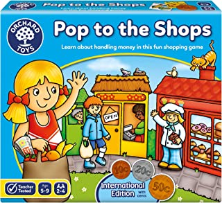Orchard Toys Pop to the Shops International Board Game, Multi-Colour