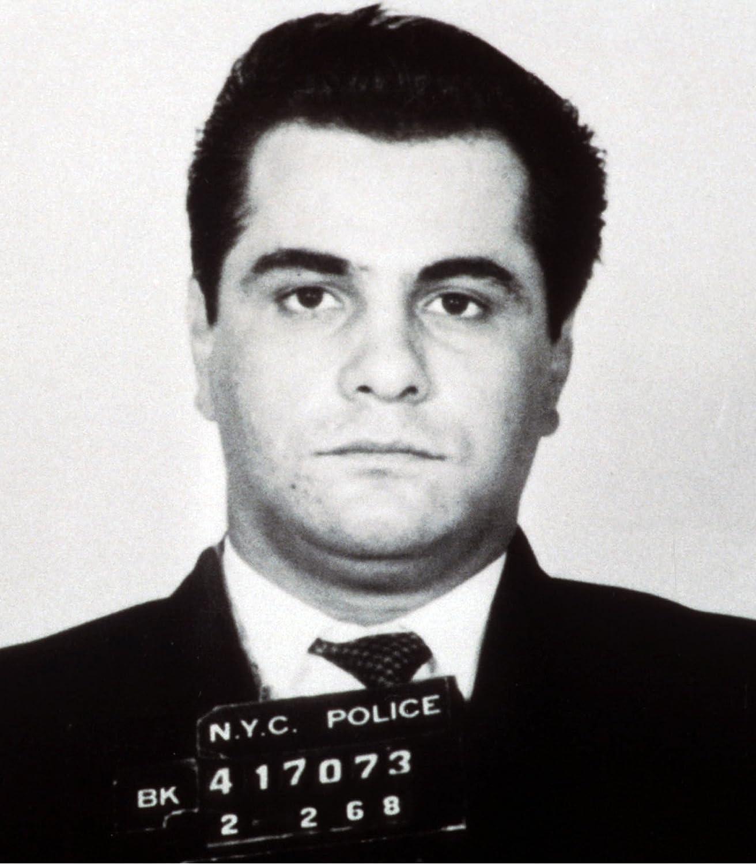 JOHN GOTTI MUG SHOT T-SHIRT TEE PICTURE PHOTO mugshot mafia mob boss jon 876