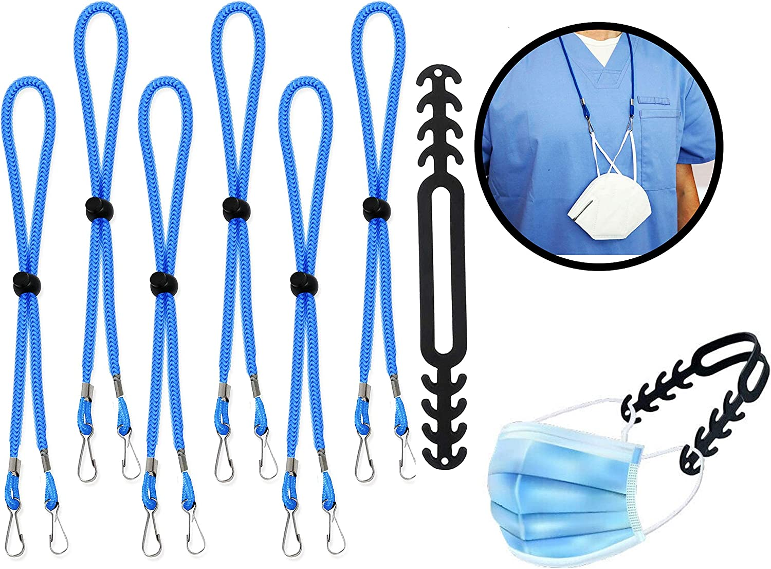 Max 68% OFF 7 Pcs Lanyards for Mask and Challenge the lowest price of Japan ☆ Facemask Adults- Adjustable Kids