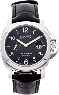 Panerai Luminor Mechanical (Automatic) Black Dial Mens Watch PAM 301 (Certified Pre-Owned)