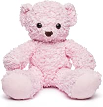 product image for Bears for Humanity Organic Sherpa Bear Plush Animal Toy, Pink, 16""