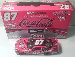 2004 Kurt Busch 97 Sharpie / Coca-Cola C2 1/24 Team Caliber Owners Nascar Diecast