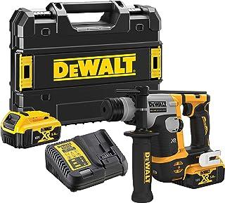 DeWalt DEWDCH172P2 DCH172P2 Ultra-Compact XR SDS Plus Rotary Hammer 18V 2 x 5.0Ah Li-ion, 18 V, Black/Yellow