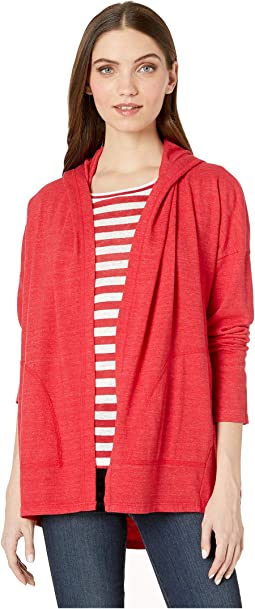 Rochel Lounge Jersey Long Sleeve Shawl Neck Cardi