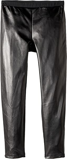 Polo Ralph Lauren Kids - Faux-Leather Stretch Leggings (Little Kids/Big Kids)