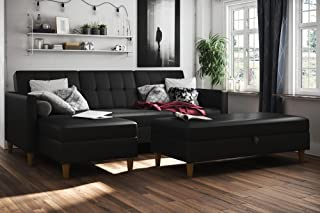 Best reversible storage pull out bed sleeper sectional Reviews