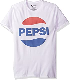 Pepsi Men's Circle Logo Short Sleeve Graphic T-Shirt