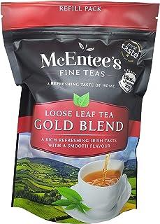 McEntee's Irish Loose Leaf Gold Blend Tea - navulzak van 250 g - vakkundig gemengd in Ierland om die perfecte kop thee te ...