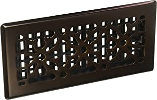 Decor Grates AGH410-RB 4-Inch by 10-Inch Gothic Bronze Steel Floor Register