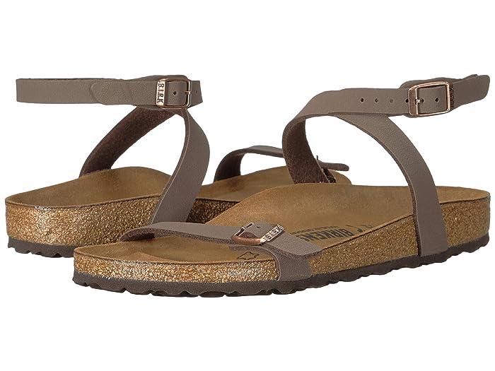 Birkenstock  Daloa (Mocha Birkibuc) Womens Dress Sandals